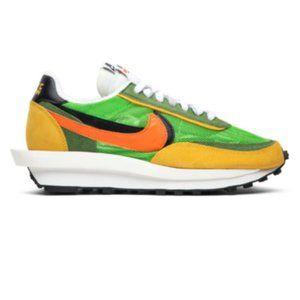 Sacai x Nike LDWaffle 'Green Gusto' Sneakers
